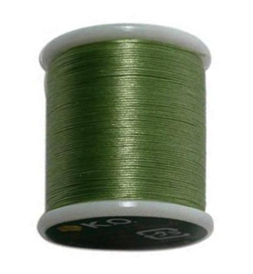 Nozue Sonoko Beading Thread Spool, Green