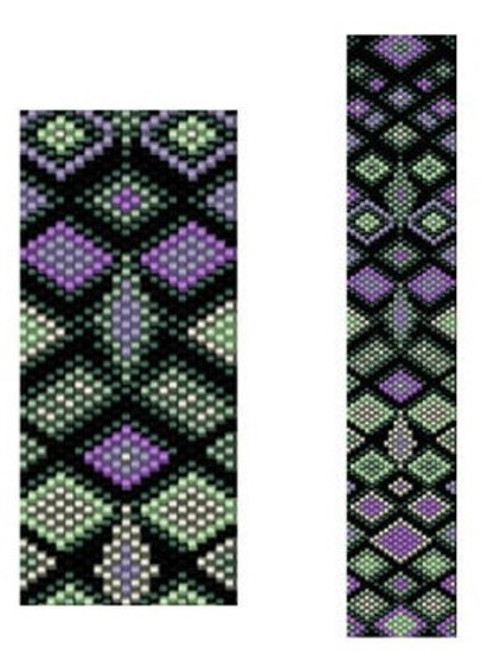 Sue Arrighi's 2020-6 Bracelet Kit (pattern sold separately) Odd Count Peyote Stitch