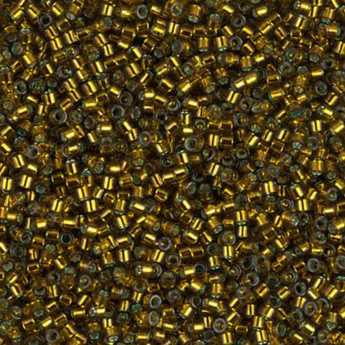 Size 11, DB-0604, Silver-Lined Golden Olive (10 gr.)