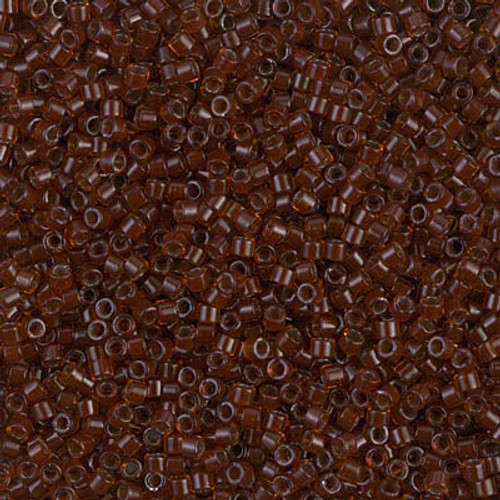 Size 11, DB-1392, Dark Topaz-Lined Root Beer (10 gr.)