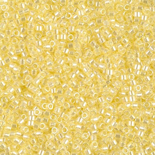 Size 11, DB-1471, Transparent Pale Yellow Luster (10 gr.)