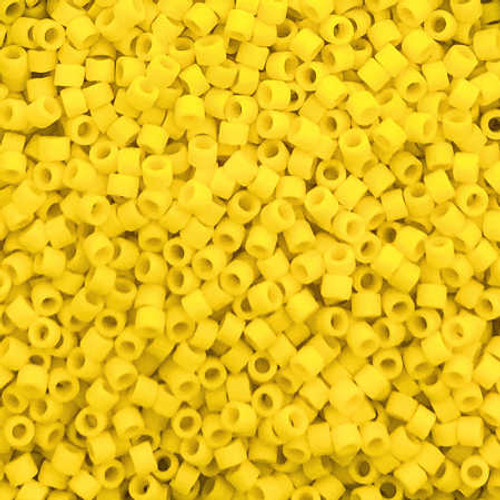 Size 11, DB-1582, Matte Opaque Canary  (10 gr.)
