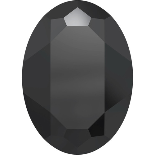 30x22mm Oval Fancy Stone Swarovski 4127, Jet