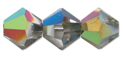 6mm Swarovski Bicones, Vitrail Medium (Qty: 25)