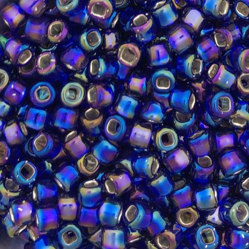 6-0641, Silver-Lined Cobalt AB (28 gr.)
