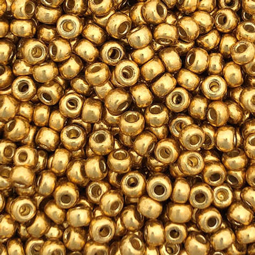 8-D4202, Duracoat Medium Gold (Miyuki) (28 gr.)