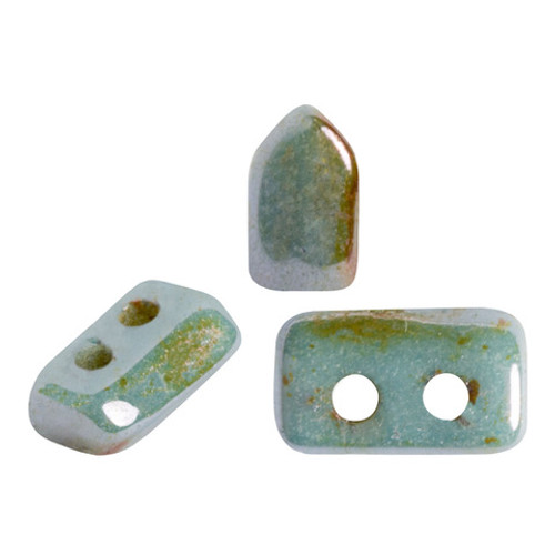 Piros par Puca Beads, Lazure Blue (Opaque Blue/Green Ceramic Look) (5 gr.)