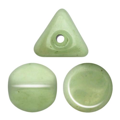 Ilos par Puca Beads, Light Green Luster (Ceramic Look) (5 gr.)