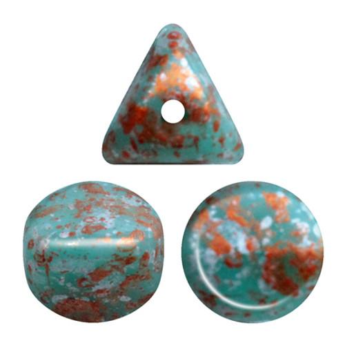 Ilos par Puca Beads, Tweedy Green (5 gr.)