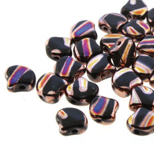 Ginko Beads, Jet Full Sliperit Line (Qty: 25)