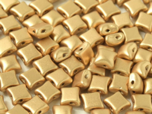 WibeDuo Beads, Aztec Gold, 8 x 8mm (Qty: 25)