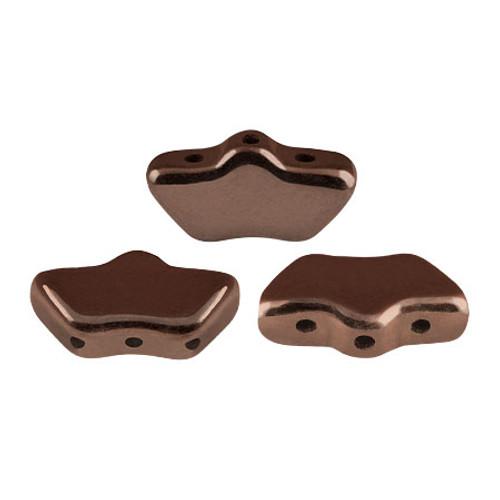 Delos par Puca Beads, Dark Bronze (Qty: 15)