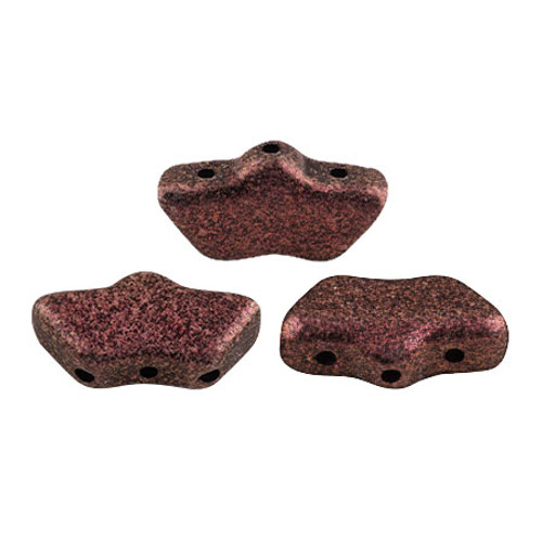 Delos par Puca Beads, Metallic Dark Violet (Qty: 15)