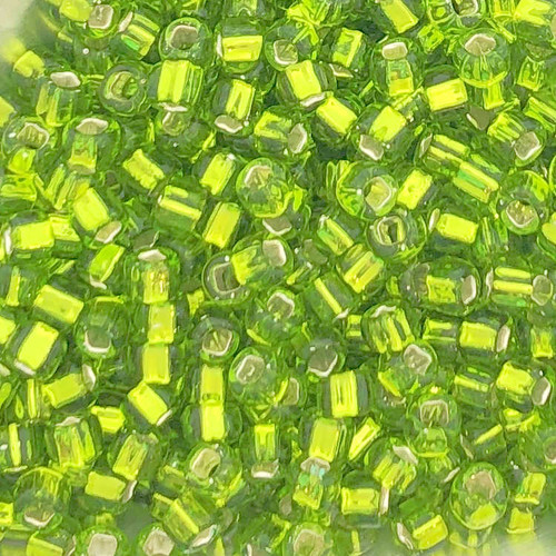 6-0014, Silver-Lined Chartreuse (28 gr.)
