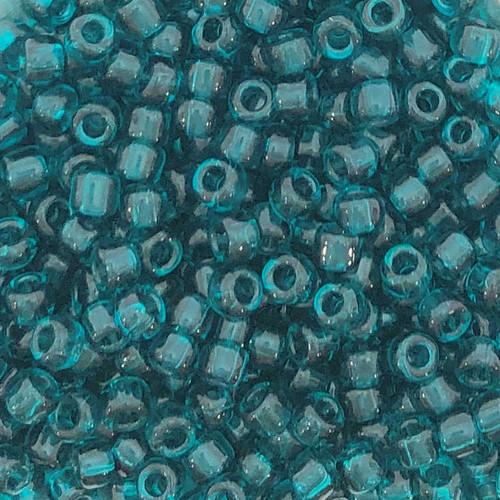 6-0147, Transparent Green Teal (28 gr.)