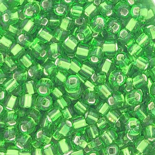 6-0015A, Silver-Lined Light Green (28 gr.)
