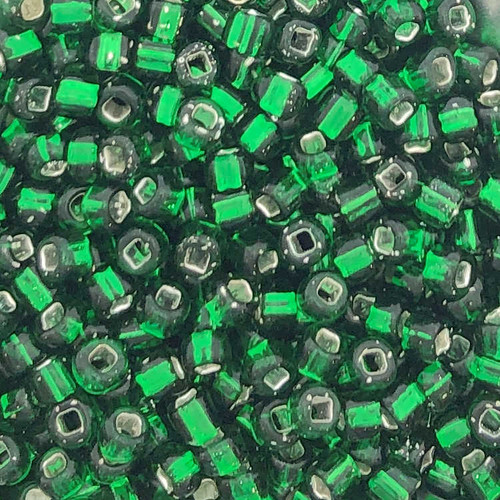 6-0016, Silver-Lined Green (28 gr.)