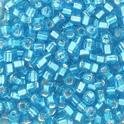 6-0018, Silver-Lined Aqua (28 gr.)