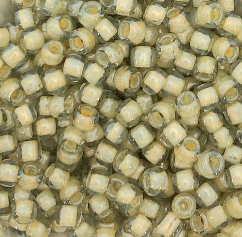 6-0329, Sand-Lined Crystal (Toho 369) (28 gr.)
