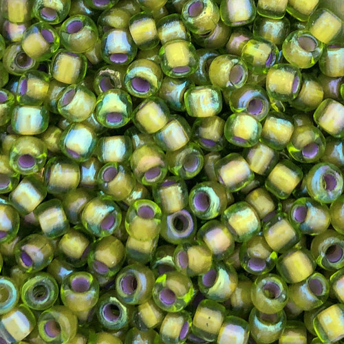 6-0356H, Olivine-Lined AB (28 gr.)