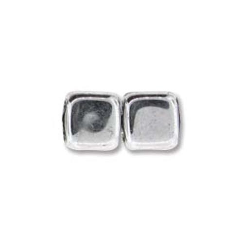 2-Hole CzechMates Tile Beads, Full Labrador (Qty: 25)