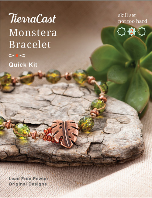 TierraCast Monstera Bracelet Kit