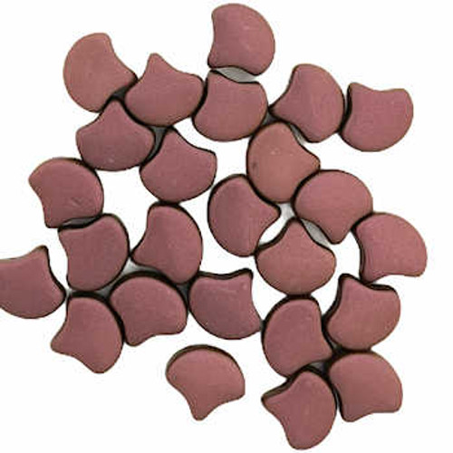 Ginko Beads, Chatoyant Shimmer Rust Brown (Qty: 25)