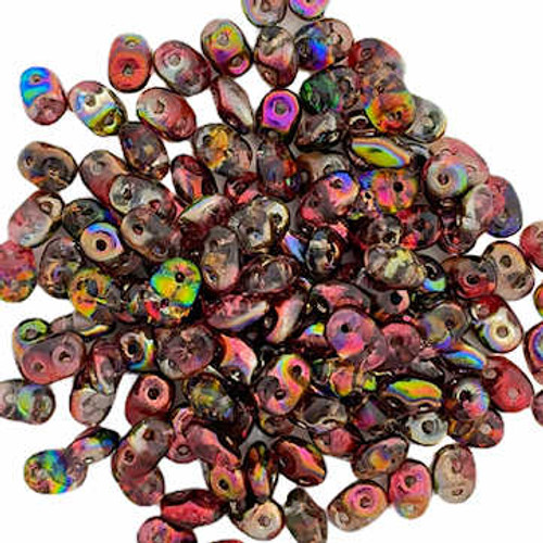SuperDuos, Crystal Magic Red/Brown (10 gr.)