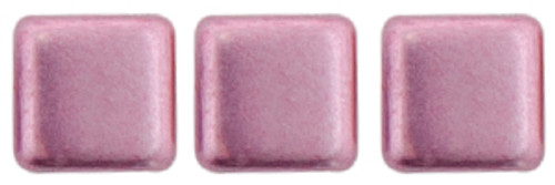 2-Hole Tile Beads, Sueded Gold Orchid  (Qty: 25)