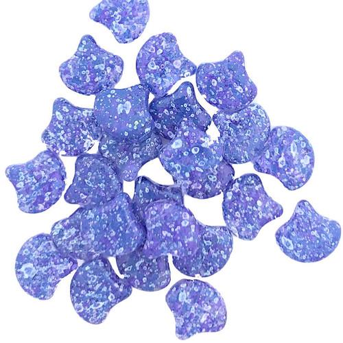 Ginko Beads, Confetti Splash Indigo (Qty: 25)