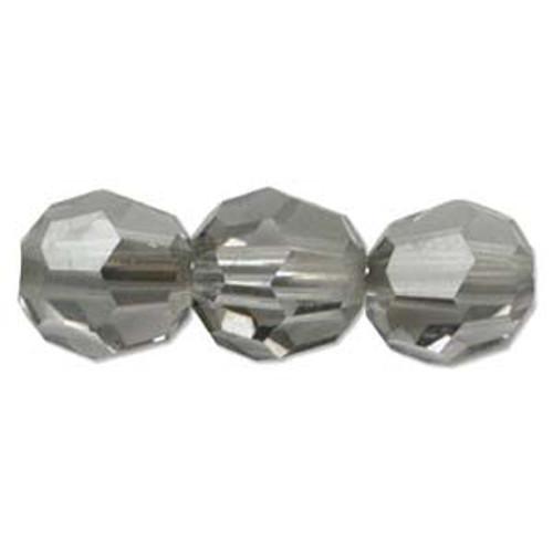 3mm Swarovski Bicones, Satin Crystal (Qty: 50)