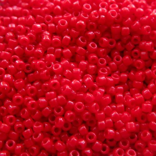 15-0408, Opaque Red (Miyuki) (14 gr.)
