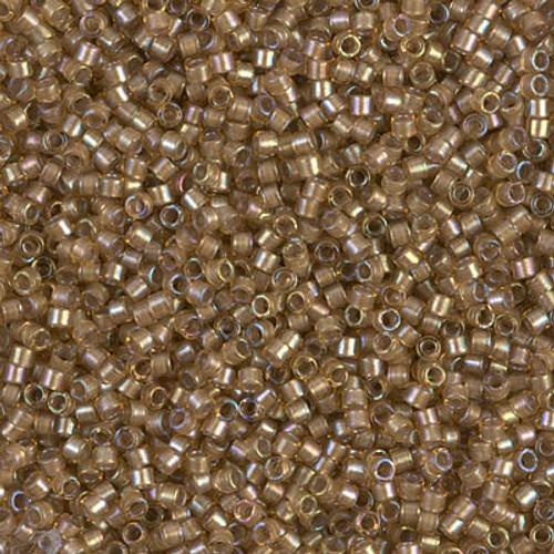 Size 11, DB-0288, White-Lined Saffron AB (10 gr.)