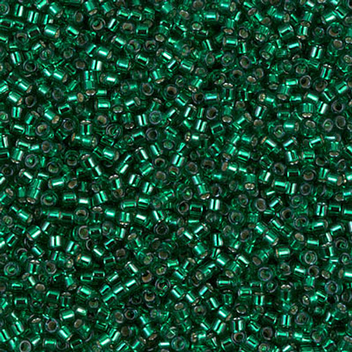 Size 11, DB-0605, Silver-Lined Emerald (10 gr.)