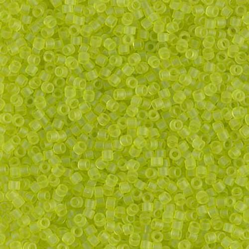 Size 11, DB-0766, Matte Transparent Chartreuse (10 gr.)