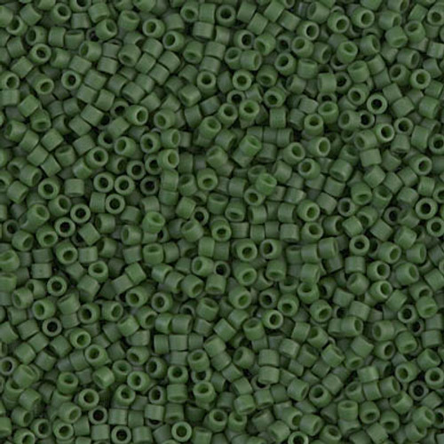 Size 11, DB-0797, Dyed Matte Opaque Olive (10 gr.)