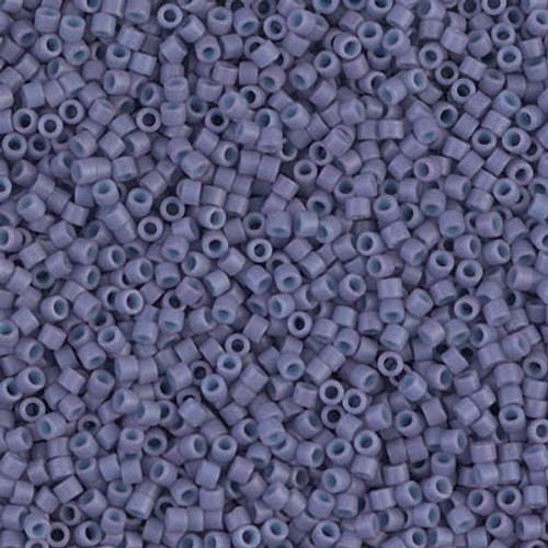 Size 11, DB-0799, Dyed Matte Opaque Dark Lavender (10 gr.)