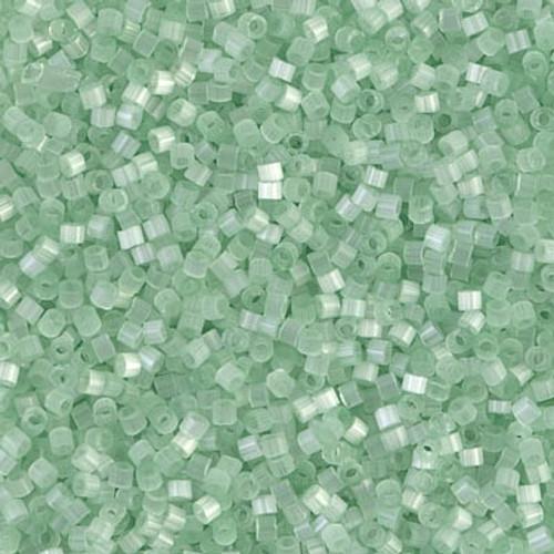 Size 11, DB-0828, Pale Green Silk Satin (10 gr.)