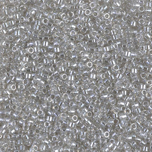 Size 11, DB-1231, Transparent Grey Mist Luster (10 gr.)