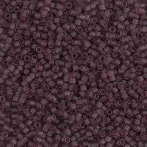 Size 11, DB-1264, Matte Transparent Dark Amethyst (10 gr.)