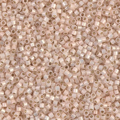 Size 11, DB-1452, Silver-Lined Pale Peach Opal (10 gr.)