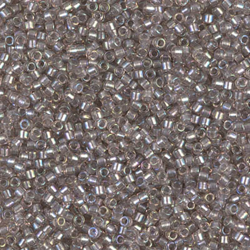 Size 11, DB-1772, Sparkle Pewter-Lined Crystal (10 gr.)