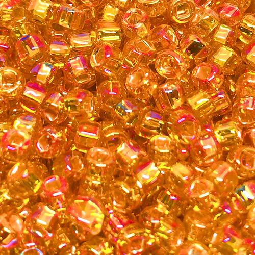 6-0637, Silver-Lined Orange AB (28 gr.)