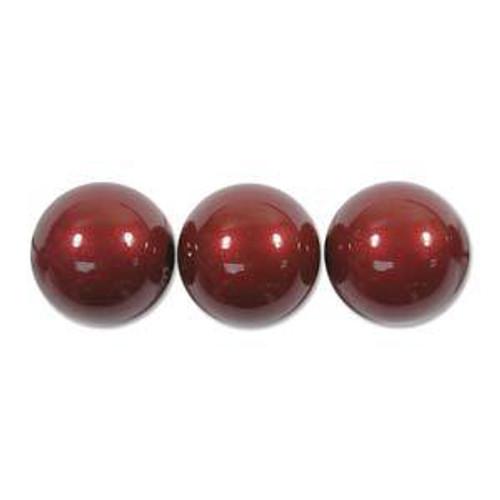 3mm Swarovski Pearls, Bordeaux (Qty: 50)