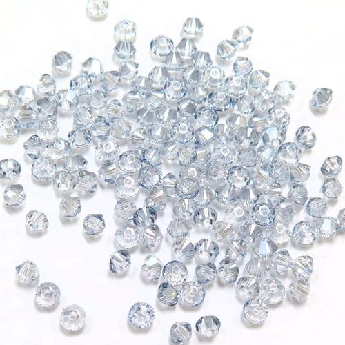 3mm Swarovski Bicones, Crystal Blue Shade (Qty: 50)