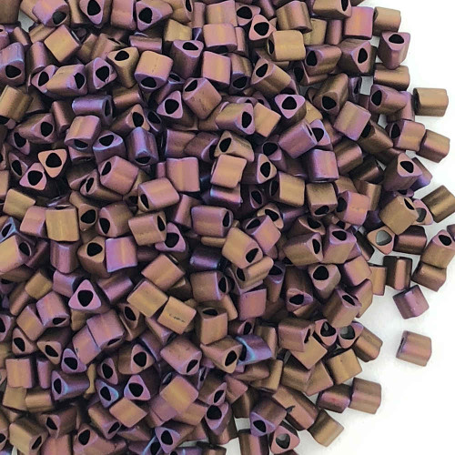 11-TRI-0703, Matte Mauve Mocha Triangles (28 gr.)