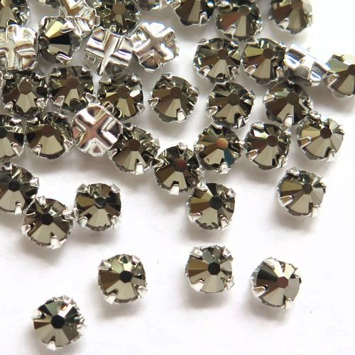 16ss Swarovski Rose Montees - Crystal Metallic Light Gold (Qty: 50)