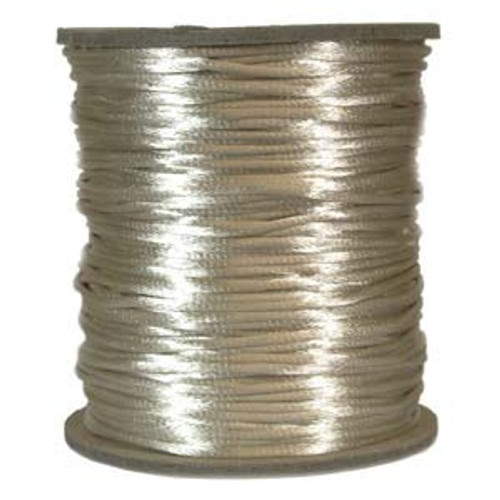 2mm Satin Cord (Rattail), Light Beige (6 yds.)