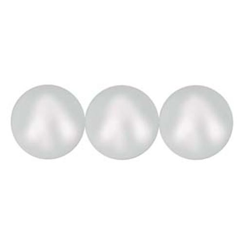 4mm Swarovski Pearls, Iridescent Dove Grey (Qty: 50)