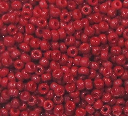 15-0407A, Opaque Vermillion Red (Miyuki) (14 gr.)